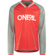 ONeal Element FR - Maillot manga larga Hombre - Blocker gris/rojo